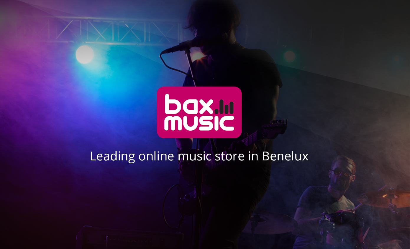 Baxmusic - banner work